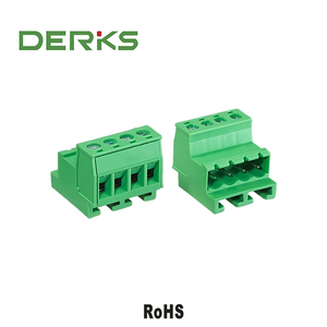 Pluggable Female Terminal Block Connector