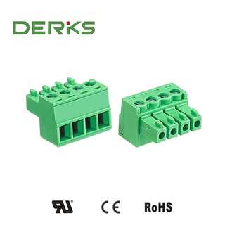 3.81 Pitch Male Pluggable Terminal Block|Plug in Terminal Connector
