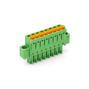 3.50mm Pitch Push in Connection Spring Clamp Pcb Pluggable Screwless Terminal Block with Super Thin Wall