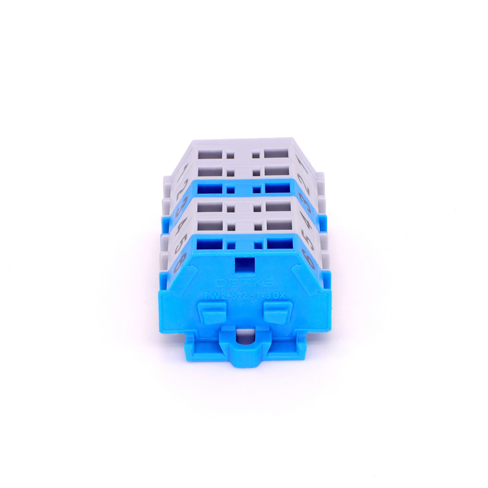 Fast Connection Screwless Pcb Terminal Block