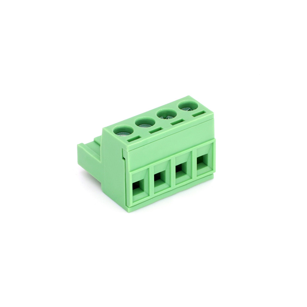 5.08mm Pitch 2Pin-24Pin Pluggable Green Terminal Block with Holding Screw